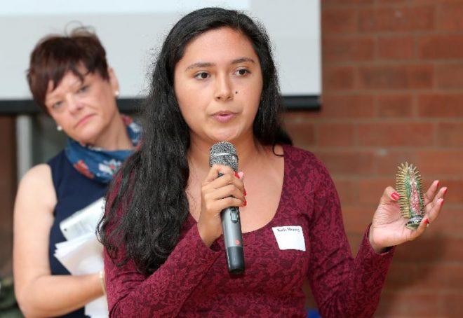Karla runs a summit session in Belfast