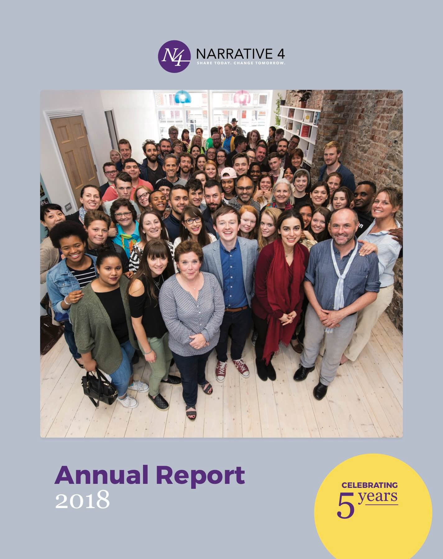 Read our 2018 annual report!