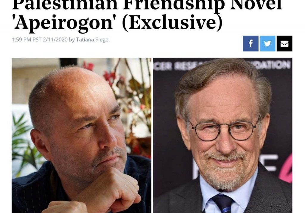 Apeirogon Spielberg Announcement
